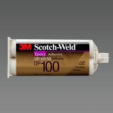 3M DP 100 Plus kétkomponensű szerkezeti ragasztó átlátszó