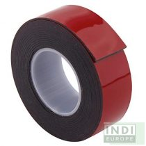 IND 6411 fekete ragasztószalag LSE felületekhez  15mm