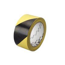 Jelölőszalag-3M 766i PVC-sárga-fekete