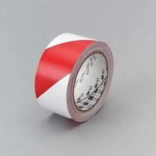 Jelölőszalag-3M 767i PVC- piros-fehér