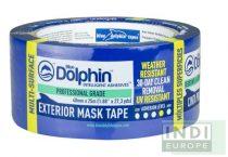 Blue Dolphin kültéri festő- maszkoló szalag 48mm 30nap UV állóság