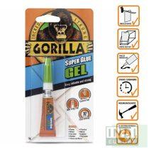 Gorilla Super Glue Gél Pillanatragasztó 3g