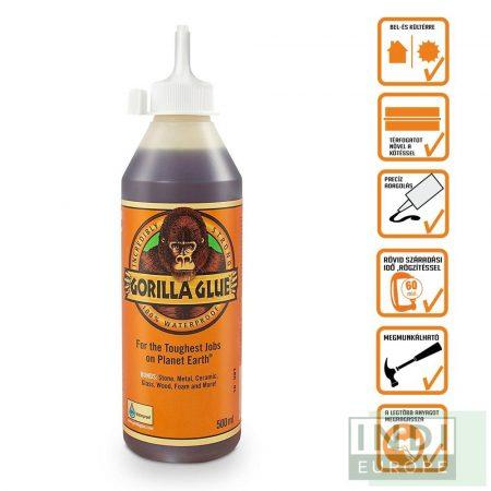 Gorilla Glue Original PU Ragasztó 500ml D4