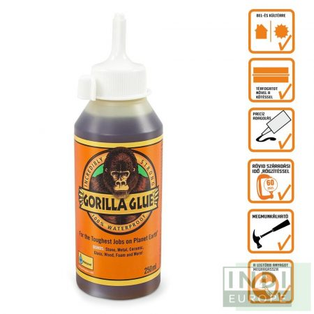 Gorilla Glue Original PU Ragasztó 250ml D4