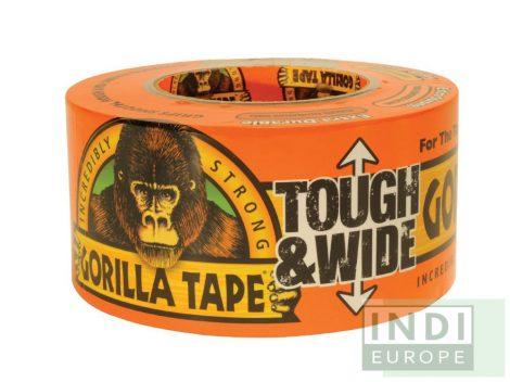 Gorilla Tape Tough & Wide Fekete Extra Erős Ragasztószalag