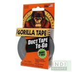 Gorilla Tape To-Go Handy Roll Fekete Extra Erős Ragasztószalag