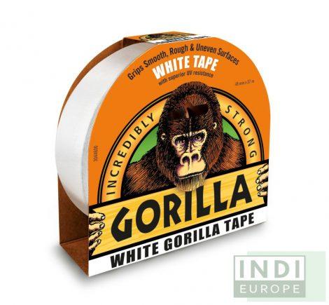 Gorilla Tape Fehér Extra Erős Ragasztószalag