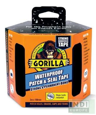 Gorilla Vízálló Foltozó/Tömítő Fekete Ragasztószalag