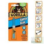 Gorilla Super Glue Pillanatragasztó 3g