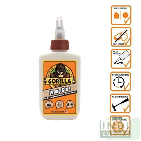Gorilla Wood Glue D3 Faragasztó 118ml