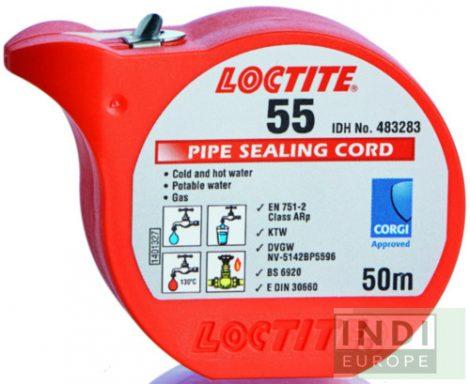 Loctite 55 csőmenettömítő zsinór