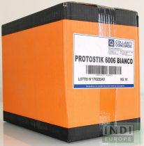 Protostik 6006 fehér olvadék patronos ragasztó automata élzáráshoz