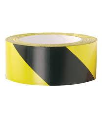 Padlójelölő szalag 100mm sárga-fekete