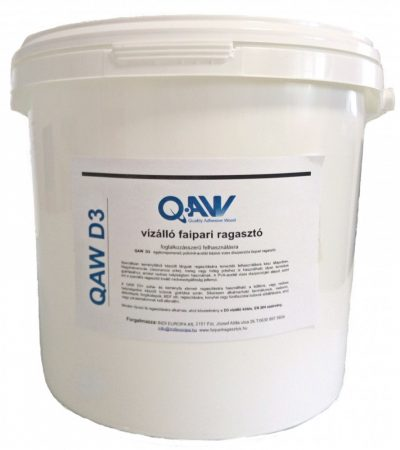 QAW diszperziós vízálló D3 ragasztó - 5 kg
