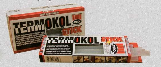 TERMOKOL STICK 16 faanyagok, papír, karton, fém és műanyagok ragasztására